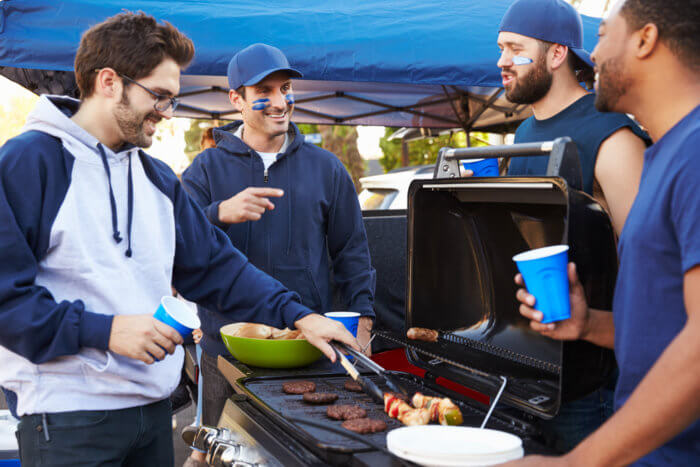 tailgating grilling